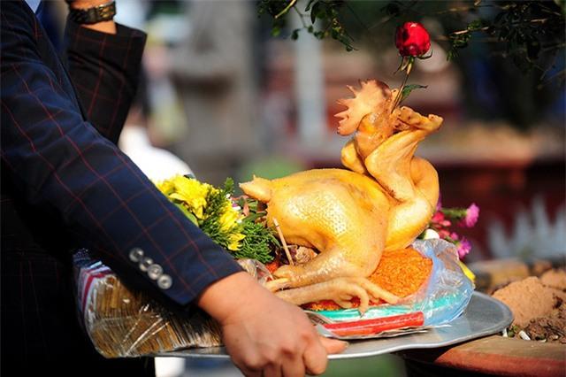 Lễ cúng giao thừa có thể không dùng thịt gà để cúng. Ảnh minh họa.