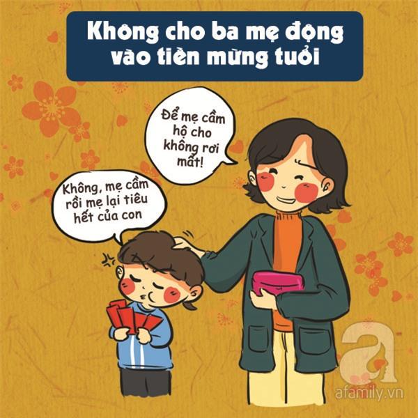 Những tình huống khó đỡ bố mẹ nào cũng gặp phải mỗi dịp Tết đến - Ảnh 4.