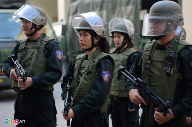 Tết của những bóng hồng cảnh sát đặc nhiệm - Ảnh 6.