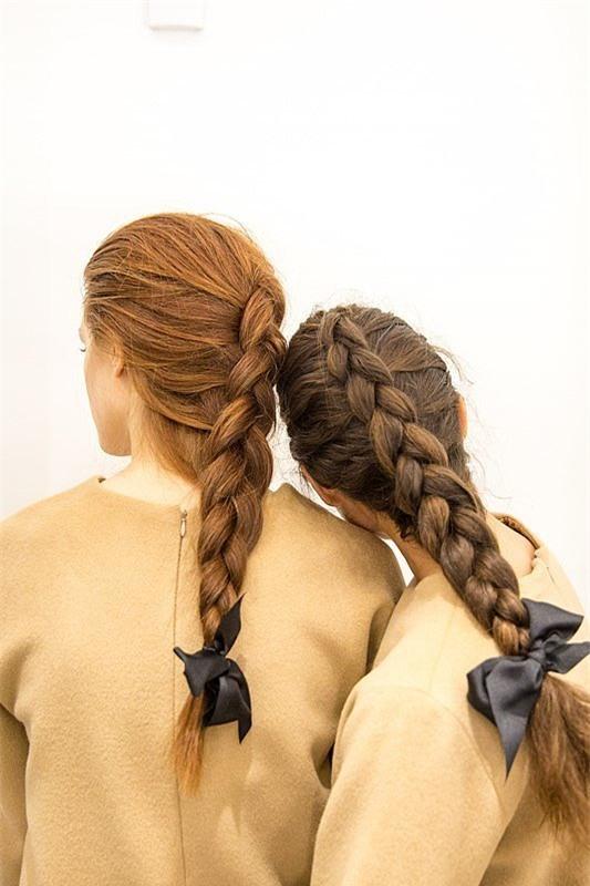 4 kiểu tóc đẹp duyên dành cho nàng tóc dài chán để tóc xoã - Ảnh 15.