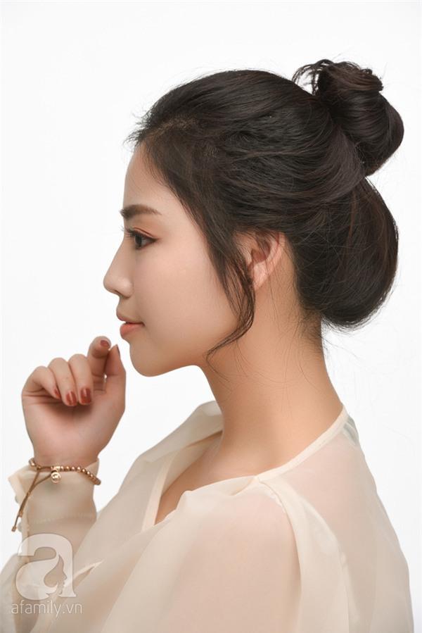 4 kiểu tóc đẹp duyên dành cho nàng tóc dài chán để tóc xoã - Ảnh 16.