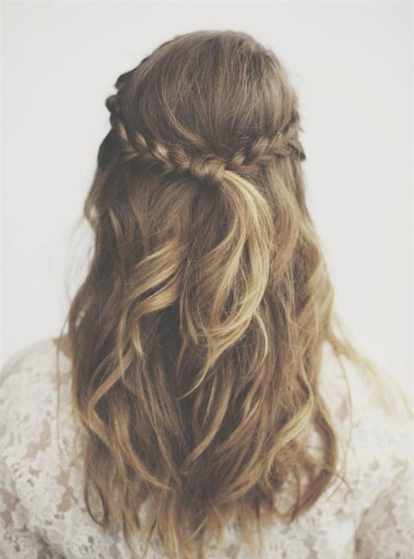 4 kiểu tóc đẹp duyên dành cho nàng tóc dài chán để tóc xoã - Ảnh 25.