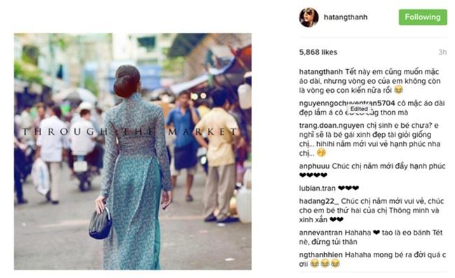 Tang Thanh Ha nuoi tiec vi eo lon khong mac duoc ao dai hinh anh 1