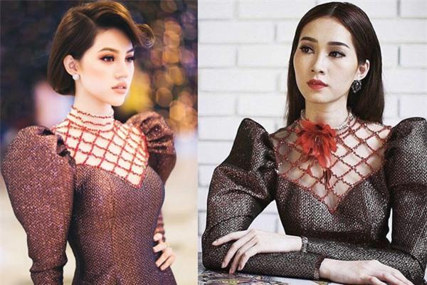 Mới đầu năm mà các người đẹp Việt đã đụng hàng lia lịa - Ảnh 3.