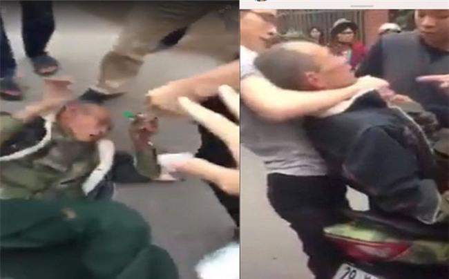 Thương binh bị đuổi đánh viết đơn yêu cầu khởi tố nhóm thanh niên hành hung