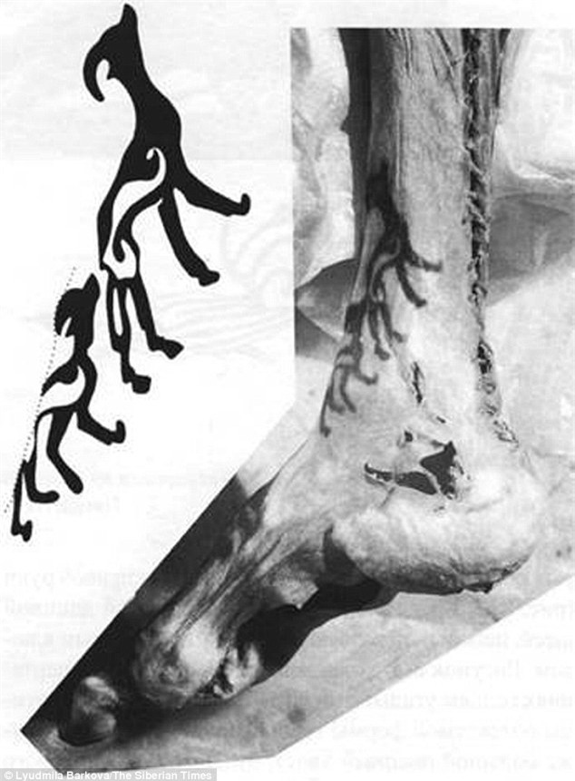 Bí ẩn xác ướp hoàng gia 2200 tuổi nghiện ngập và thích xăm trổ đã được hé mở - Ảnh 6.