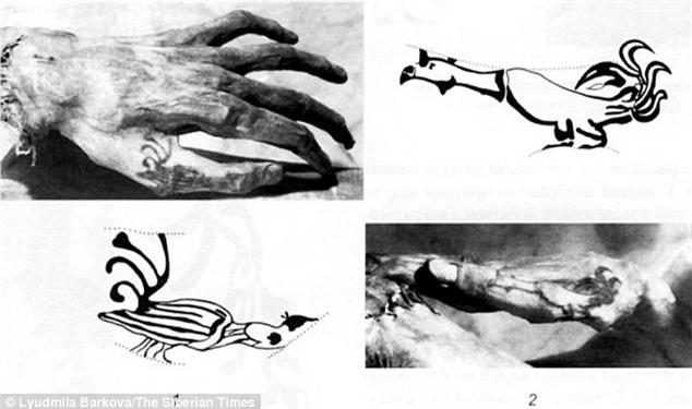 Bí ẩn xác ướp hoàng gia 2200 tuổi nghiện ngập và thích xăm trổ đã được hé mở - Ảnh 8.