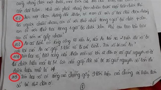 Học sinh mất 700 phút luyện tập cho 105 bài tập về nhà dịp Tết