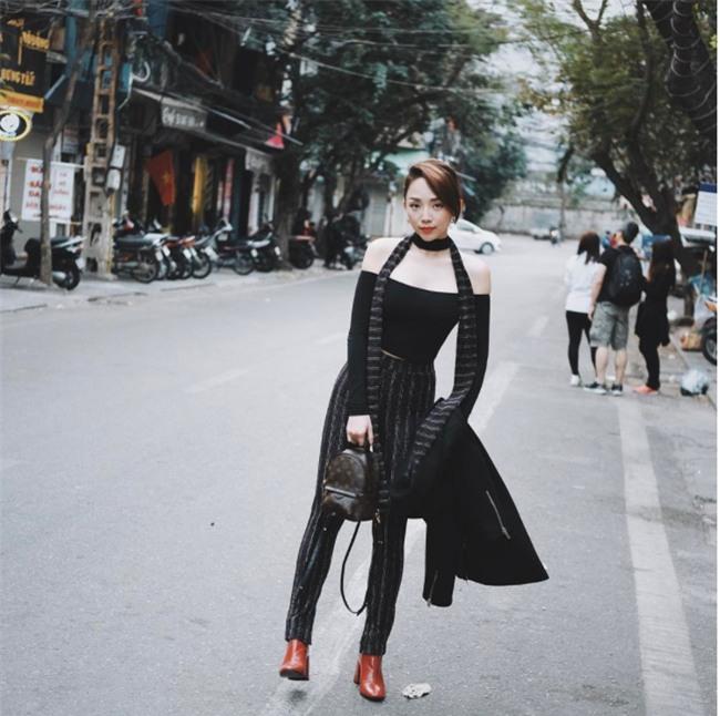 Đâu chỉ có áo dài cách tân, street style đón Xuân của sao Việt còn rực rỡ thế này cơ mà! - Ảnh 14.