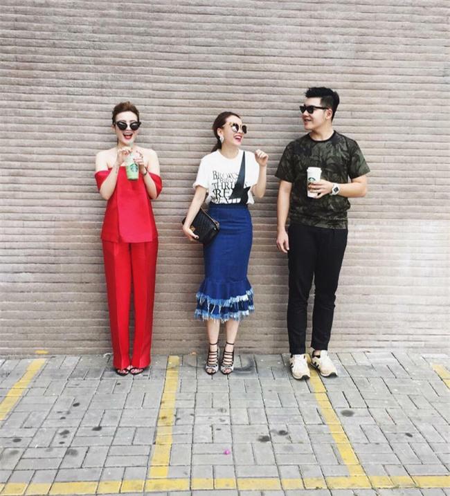 Đâu chỉ có áo dài cách tân, street style đón Xuân của sao Việt còn rực rỡ thế này cơ mà! - Ảnh 8.
