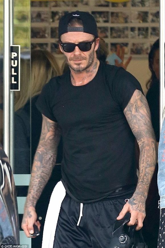 David Beckham, cầu thủ David Beckham, victoria david beckham, sao Hollywood
