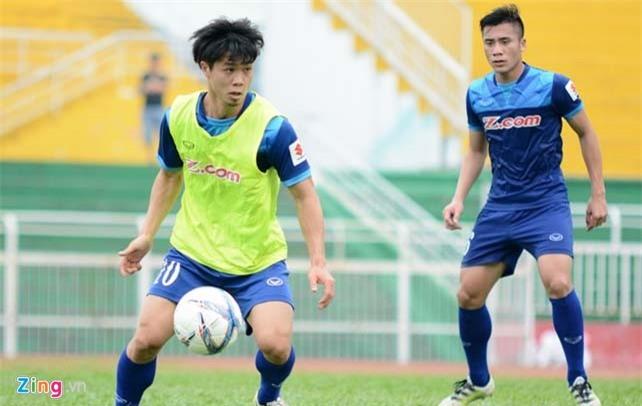Công Phượng ở đâu trong đội hình U23 Việt Nam - Ảnh 1.