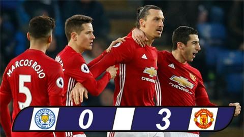 Diệt gọn Leicester sau 88 giây, M.U áp sát top 4