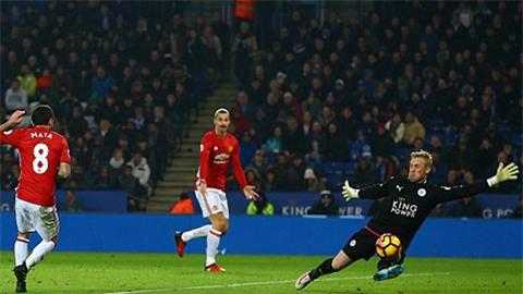 Mata ấn định chiến thắng 3-0 cho M.U