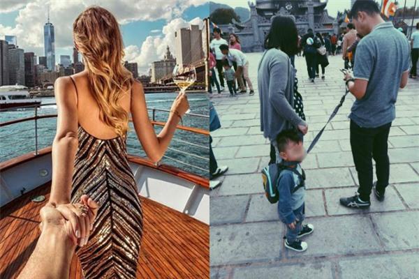 Bố sẽ dắt con đi khắp thế gian - bức ảnh gây bão cộng đồng mạng những ngày này - Ảnh 3.