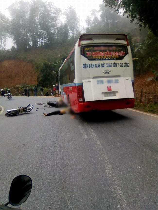 Điện Biên: Một người phụ nữ chết thảm dưới bánh xe khách giường nằm - Ảnh 2.