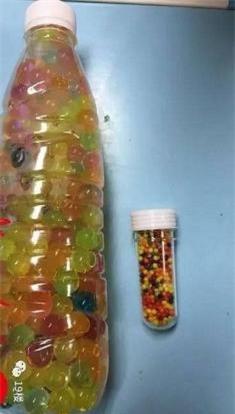 Nhầm hạt nhựa nở là kẹo, đôi vợ chồng Trung Quốc cho con gái 3 tuổi ăn hết gần... 300 viên - Ảnh 1.