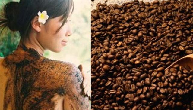 Bã cà phê chăm sóc sắc đẹp