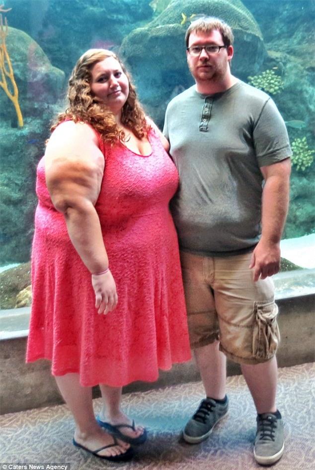 Cặp đôi nặng gần 350kg giảm cân ngoạn mục trong 12 tháng - Ảnh 2.