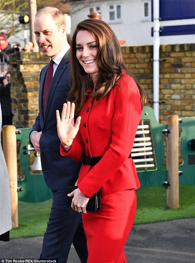 Công nương Kate mặc lại váy cũ từ 7 năm trước - Ảnh 3.