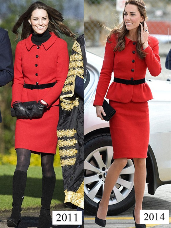 Công nương Kate mặc lại váy cũ từ 7 năm trước - Ảnh 4.