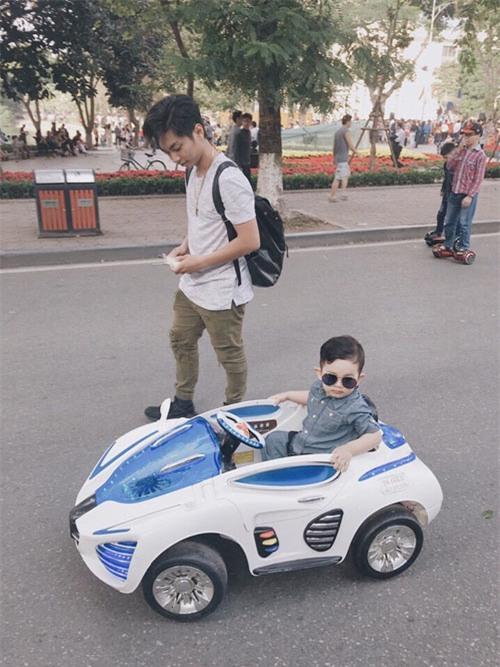 "toc xoan, lai xe sanh dieu, con trai phan hien - khanh thi ""hop hon"" nguoi doi dien - 4"