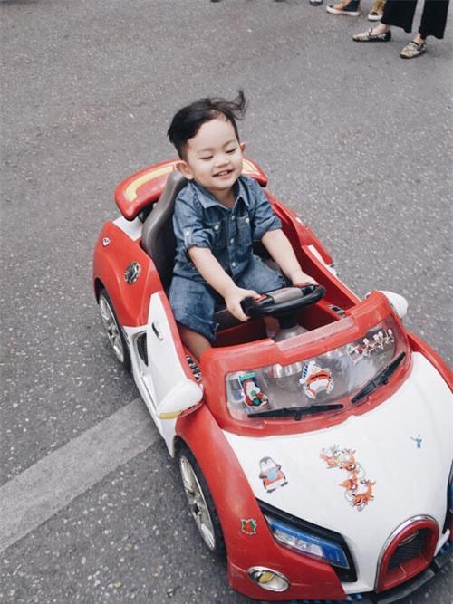 "toc xoan, lai xe sanh dieu, con trai phan hien - khanh thi ""hop hon"" nguoi doi dien - 6"