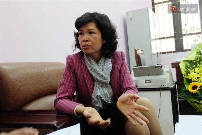 """Hiệu trưởng THPT Phan Đình Phùng: """"Chúng tôi không bao che người liên quan tới vụ nổ khiến nữ sinh bị bỏng"""" - Ảnh 2."""
