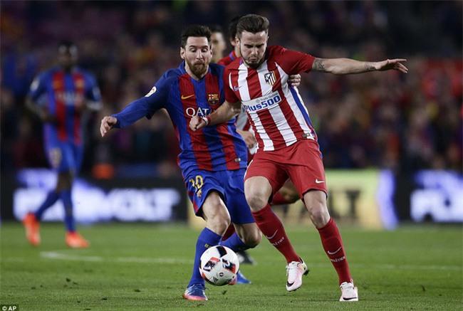 Barca vào chung kết Cúp Nhà vua trong trận đấu có 3 thẻ đỏ - Ảnh 5.
