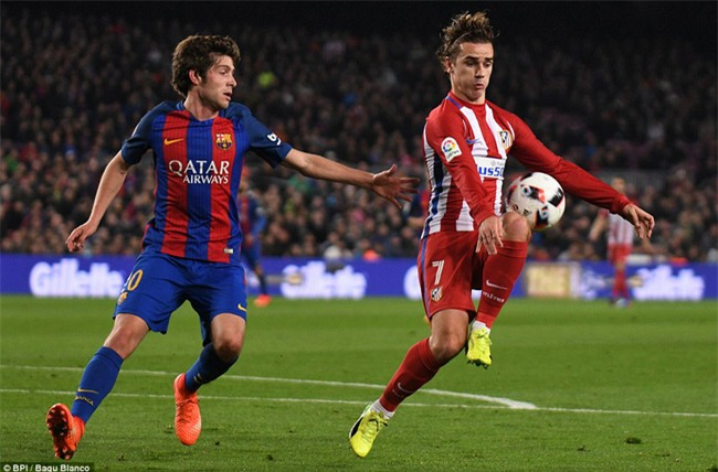 Barca vào chung kết Cúp Nhà vua trong trận đấu có 3 thẻ đỏ - Ảnh 8.