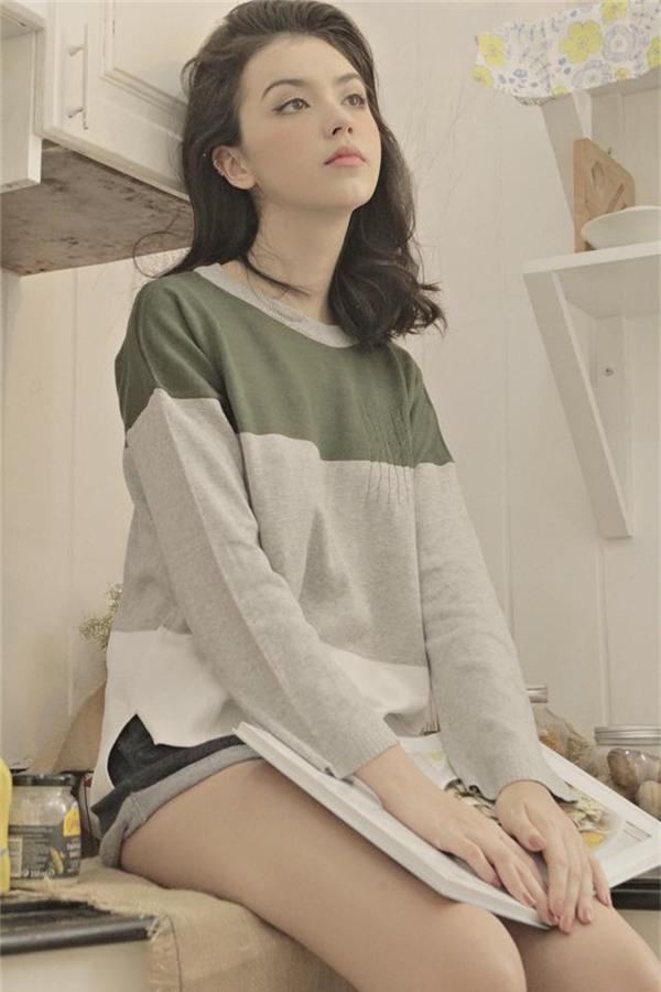 Cô nàng Việt lai xinh đẹp đang khiến dân mạng mê mẩn.
