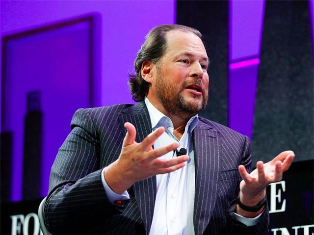 Marc Benioff, CEO Salesforce