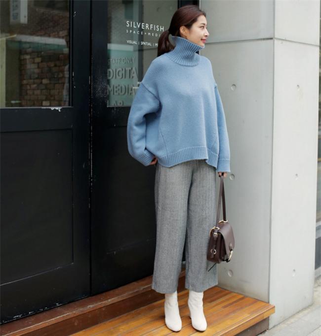 Bí quyết mặc ấm và phong cách cho những ngày đi làm trời đột ngột chuyển lạnh - Ảnh 11.