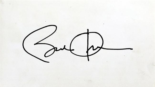 So với những người tiền nhiệm, chữ ký dây thép gai của Tổng thống Donald Trump có gì khác biệt - Ảnh 2.