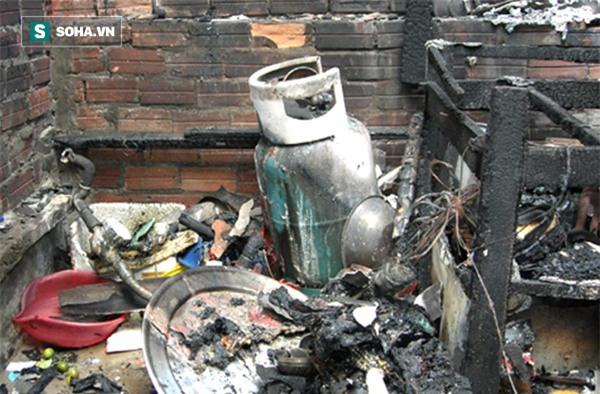 Vào bếp làm cơm đãi khách, nam thanh niên bị lửa thiêu tử vong - Ảnh 1.