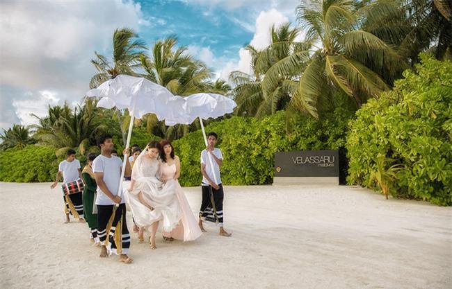 Cặp đôi yêu nhau từ thời tay trắng đến đám cưới bạc tỷ bao trọn resort 5 sao Maldives khi chồng thành đại gia - Ảnh 5.