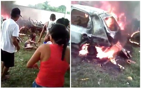 Bi kịch chồng bi kịch: Người phụ nữ bị ném vào đống lửa vì nghi gây ra vụ cháy khiến bé 2 tuổi tử vong - Ảnh 2.