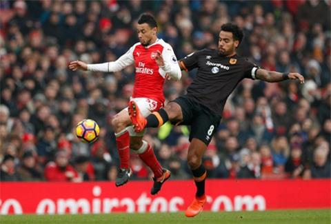 Tuyến giữa Arsenal thi đấu thiếu sáng tạo