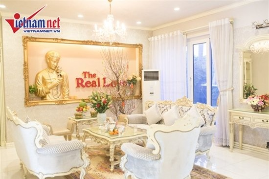 Thăm nhà đẹp phong cách hoàng gia của Hồ Quỳnh Hương - Ảnh 5.
