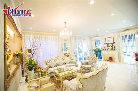 Thăm nhà đẹp phong cách hoàng gia của Hồ Quỳnh Hương - Ảnh 6.