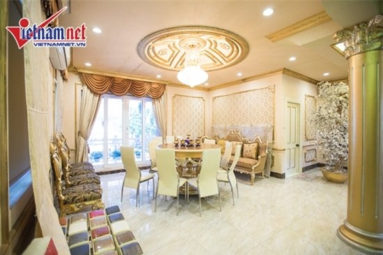 Thăm nhà đẹp phong cách hoàng gia của Hồ Quỳnh Hương - Ảnh 7.