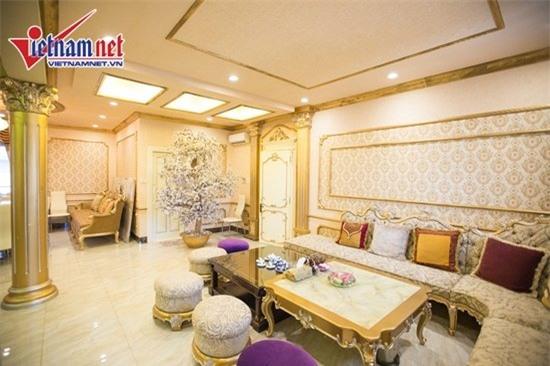 Thăm nhà đẹp phong cách hoàng gia của Hồ Quỳnh Hương - Ảnh 8.
