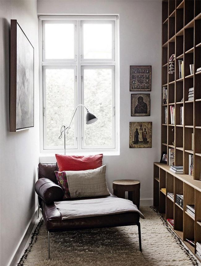 Những góc đọc sách đẹp đến mức khiến bạn muốn trốn cả thế giới - Ảnh 3.