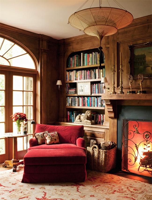 Những góc đọc sách đẹp đến mức khiến bạn muốn trốn cả thế giới - Ảnh 6.