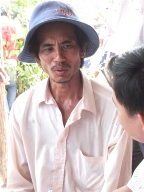 Anh Điệp cho biết sẽ bán con cá hải tượng với giá 400 triệu đồng.