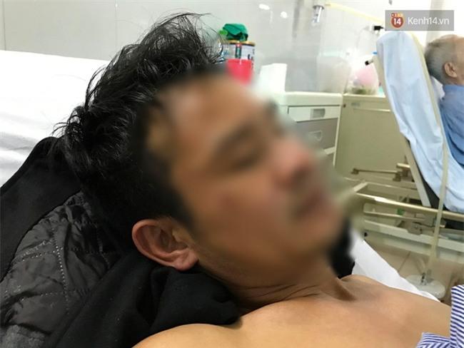 Người bị đâm sau khi đưa cô gái vào viện: Chưa hỏi đầu đuôi họ đã rút dao đâm vì tưởng tôi gây tai nạn - Ảnh 4.
