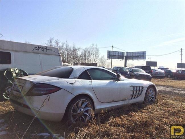 Sieu xe Mercedes-Benz SLR McLaren bi bo roi tu nam 2011 hinh anh 1