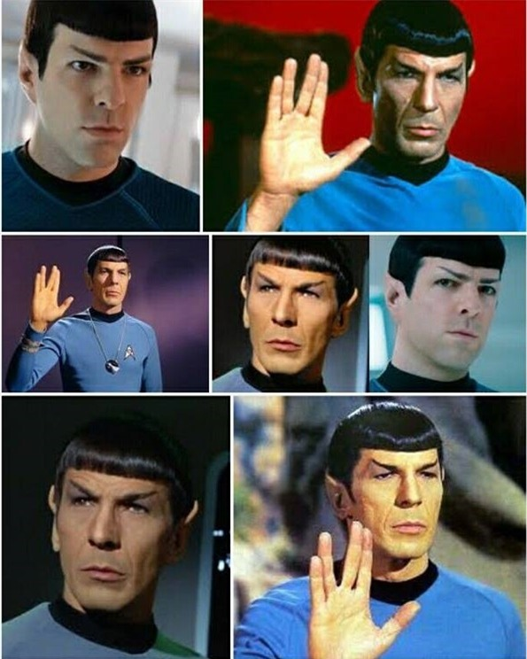 Mọi người bảo mái tóc của chị gái ảnh trên giống với nhân vật ở hành tinh Vulcan. Ai cũng để mái kiểu này.