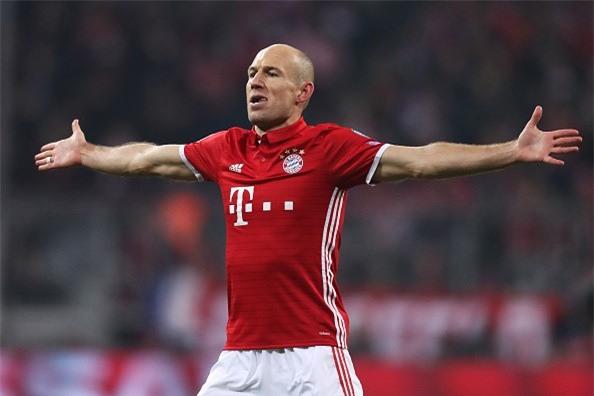 Robben: 'Arsenal phai tra gia vi choc gian chung toi' hinh anh 1
