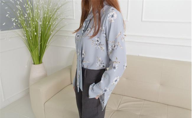 Áo tay loe và những cách điệu hợp mốt các nàng nên sắm ngay cho mùa xuân này - Ảnh 12.